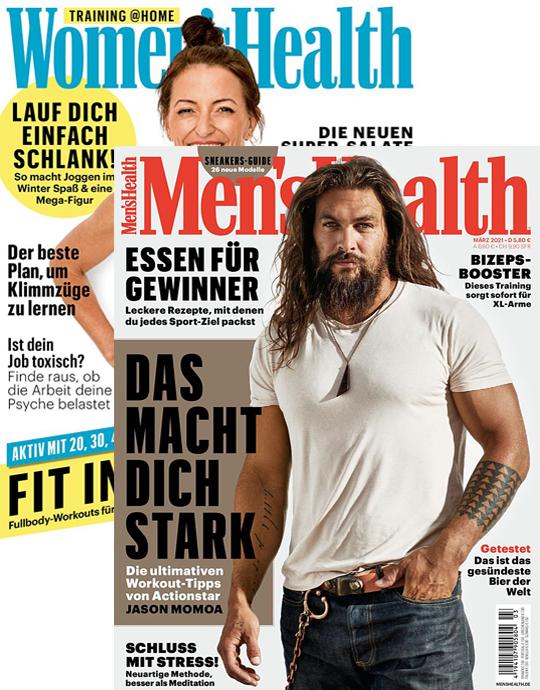 MEN'S HEALTH + WOMEN'S HEALTH